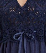 Odd Molly - good mood dress - DARK BLUE