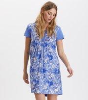 Odd Molly - blossom boss dress - SUMMER BLUE
