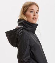 Odd Molly - dashing drizzel rain jacket - ALMOST BLACK