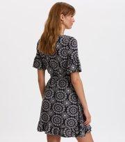 Odd Molly  - women empire dress - ALMOST BLACK