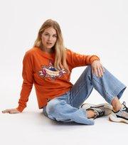 Odd Molly - visionary sweater - PUMPKIN ORANGE