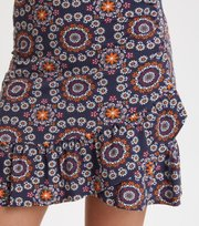 Odd Molly - women empire skirt - DARK BLUE