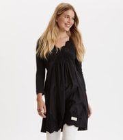 Odd Molly - backyard dress - ALMOST BLACK