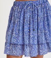Odd Molly - blossom skirt - SEA BLUE