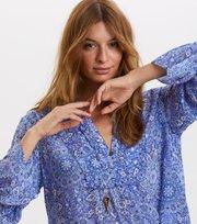 Odd Molly - blossom blouse - SEA BLUE