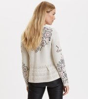 Odd Molly - more of me cardigan - LIGHT PORCELAIN