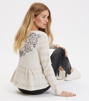 Odd Molly - more of me sweater - LIGHT PORCELAIN