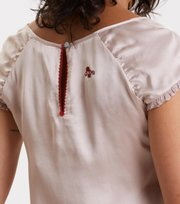 Odd Molly - heart winner blouse - SHADOW SAND