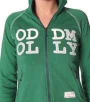 Odd Molly - speak-loud-say-nothing jacket - GREEN