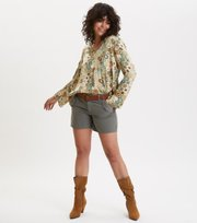 Odd Molly - molly-hooked blouse - LICHEN GREEN