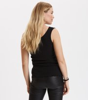 Odd Molly  - rib-eye tank - ALMOST BLACK