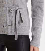 Odd Molly  - my law cardigan - GREY MELANGE