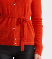 Odd Molly  - my law cardigan - STRONG ORANGE