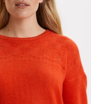 Odd Molly - my law sweater - STRONG ORANGE