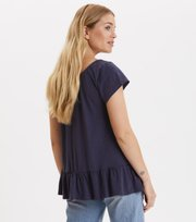 Odd Molly - deep passion top - DARK BLUE
