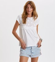 Odd Molly - bonnie tee - BRIGHT WHITE
