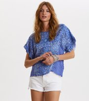 Odd Molly - empowher blouse - SEA BLUE