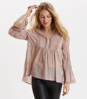 Odd Molly - embrace me l/s blouse - SHADOW DOWE