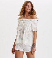 Odd Molly - majestic blouse - LIGHT CHALK
