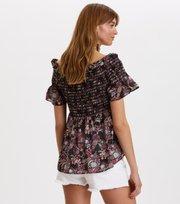 Odd Molly - majestic blouse - BLACK MULTI