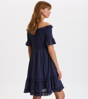 Odd Molly - majestic dress - DARK BLUE