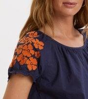 Odd Molly - wooo-hooo blouse - DARK BLUE