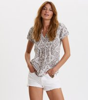 Odd Molly - no limit blouse - MID GREY