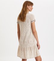 Odd Molly - good gracious dress - LIGHT PORCELAIN