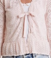 Odd Molly - good gracious cardigan - SOFT ROSE