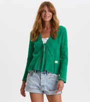 Odd Molly - good gracious cardigan - GARDEN GREEN