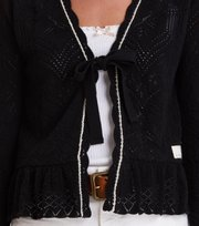 Odd Molly - good gracious cardigan - BLACK