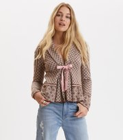 Odd Molly - canna cardigan - ROOT BROWN
