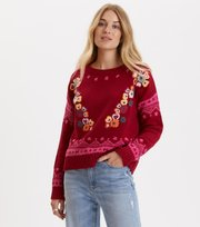 Odd Molly - my dear sweater - GARNET RED