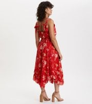 Odd Molly - marvelously free strap dress - RED TULIP