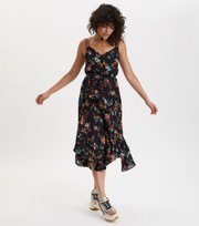 Odd Molly - marvelously free strap dress - ALMOST BLACK
