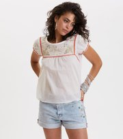 Odd Molly - no doubt blouse - BRIGHT WHITE