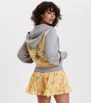 Odd Molly - got your back hoodie - LIGHT GREY MELANGE