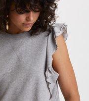 Odd Molly - fly girl sweatshirt - LIGHT GREY MELANGE