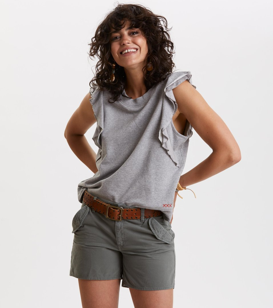 f1bc460c39a4 Odd Molly - fly girl sweatshirt - LIGHT GREY MELANGE