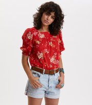 Odd Molly - marvelously free blouse - RED TULIP