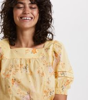 Odd Molly - marvelously free blouse - VINTAGE YELLOW