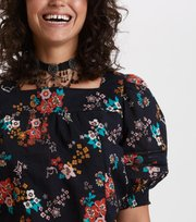 Odd Molly - marvelously free blouse - ALMOST BLACK