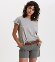 Odd Molly - doooer t-shirt - LIGHT GREY MELANGE