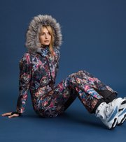 Odd Molly - blow out ski suit - NIGHT BLUE