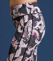 Odd Molly - love base layer tights - BLACK MULTI