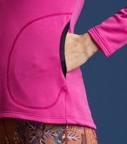 Odd Molly - storm mid layer solid jacket - FUSHIA PINK