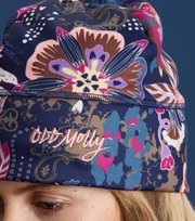 Odd Molly - heads up beanie - NIGHT BLUE