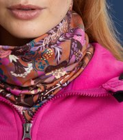 Odd Molly - love base layer neck scarf - ORANGE FLAME
