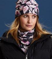 Odd Molly - love base layer neck scarf - BLACK MULTI