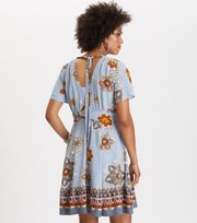Odd Molly - cruising around dress - DOVE BLUE